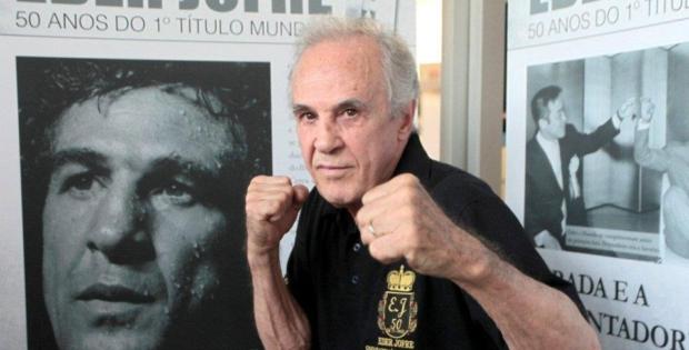 Éder Jofre, tricampeão mundial, entra para Hall da Fama do boxe dos EUA, aos 85 anos