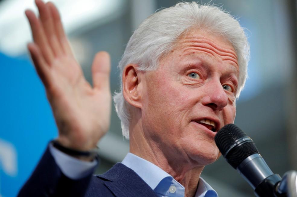 Bill Clinton, internado em UTI, recebe atendimento para conter infecção